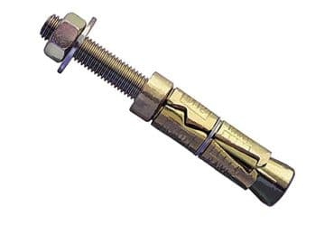 Plated Rawlbolt - Projecting Bolt M12 75P